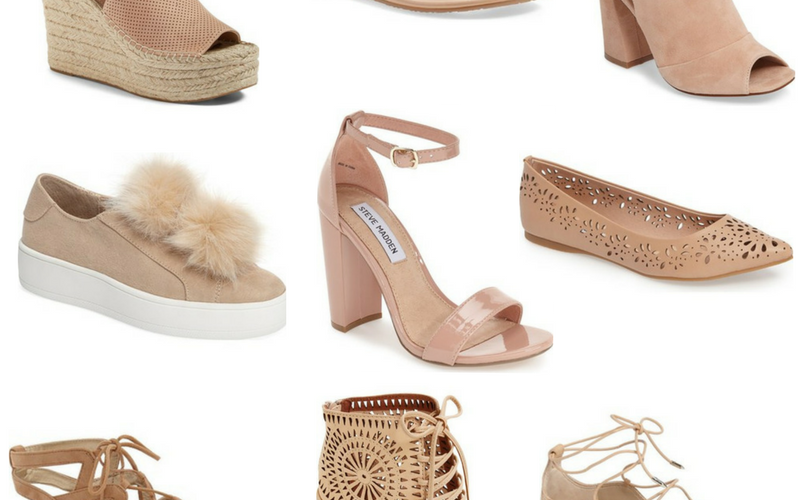 9 Must-Have Spring Neutral Shoes