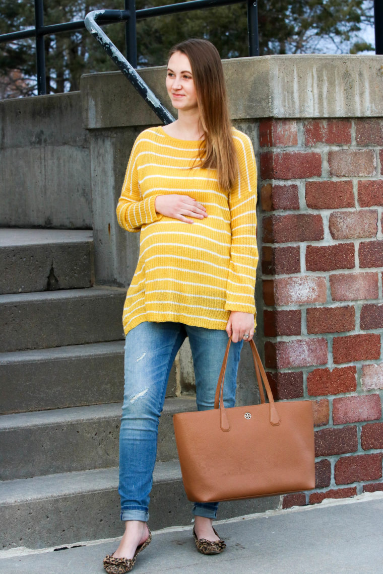 for the love of glitter, women's fashion, leopard flats, mustard yellow top