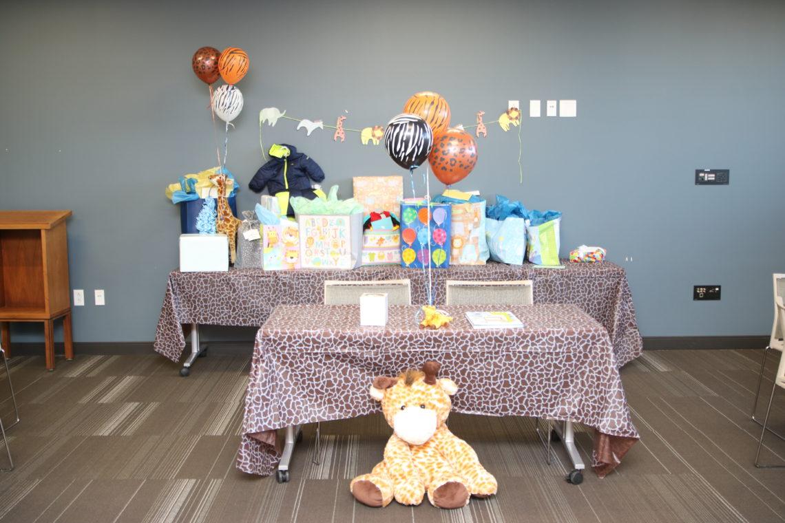 Safari Baby Shower + 34 Week Bumpdate