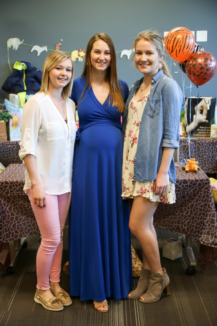 baby shower, safari baby shower, aunt to be