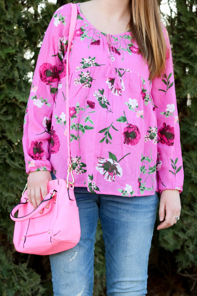 Floral Swing Blouse