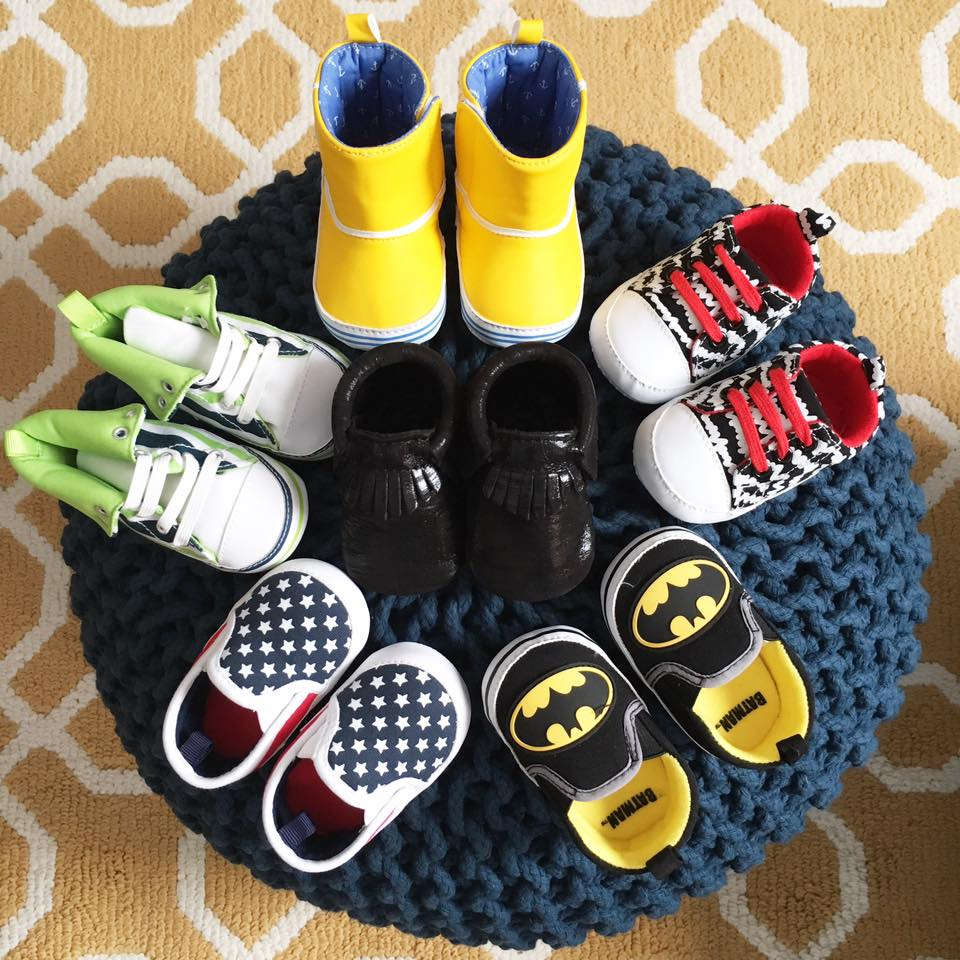 for the love of glitter, baby shoes, batman shoes