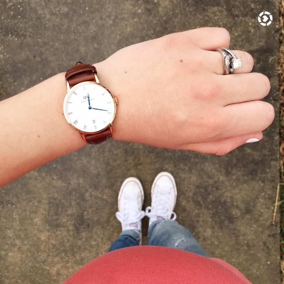 for the love of glitter, Daniel Wellington watch, converse