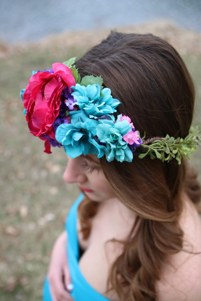 for the love of glitter, floral crown, Sew Trendy Accessories