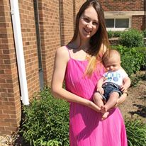 for the love of glitter, first Mother's Day, pleated dress