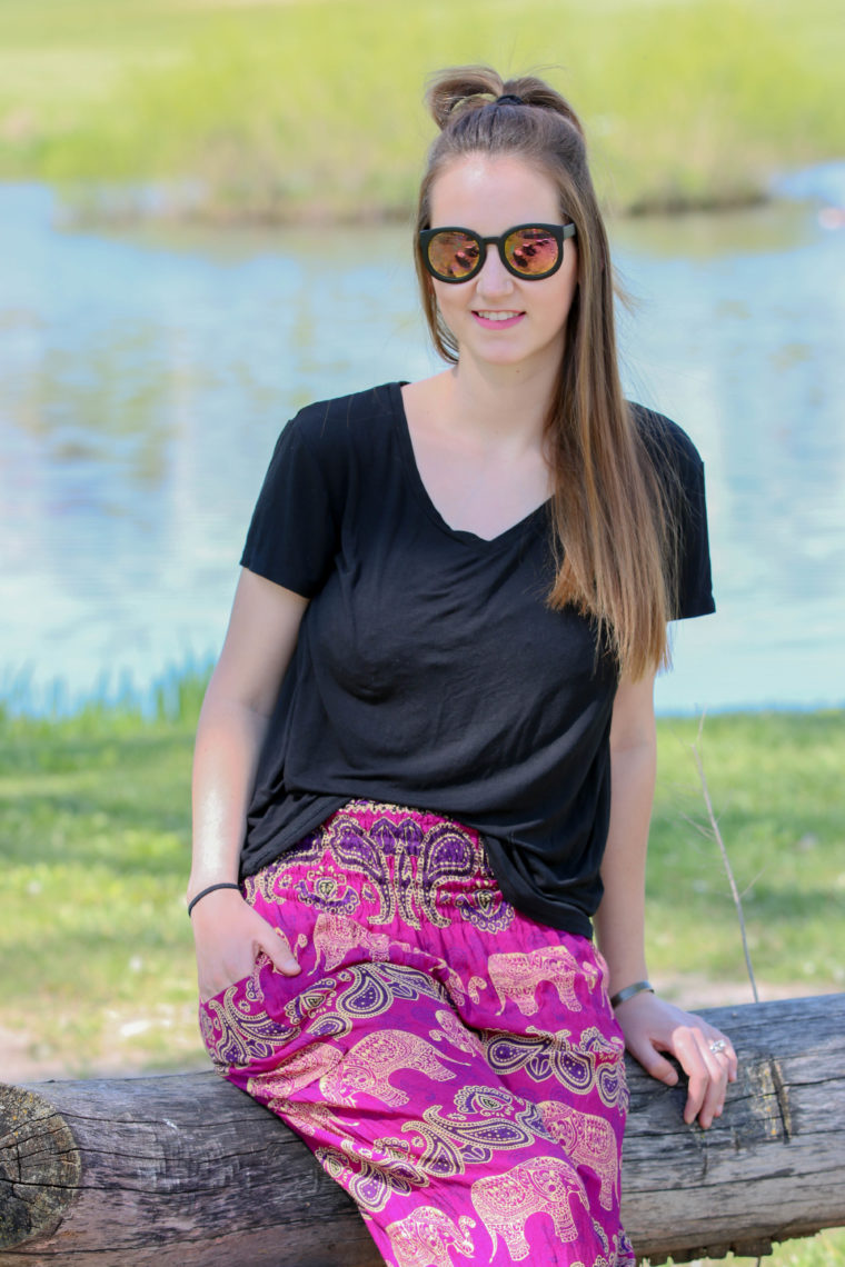 for the love of glitter, elephant pants, women's fashion