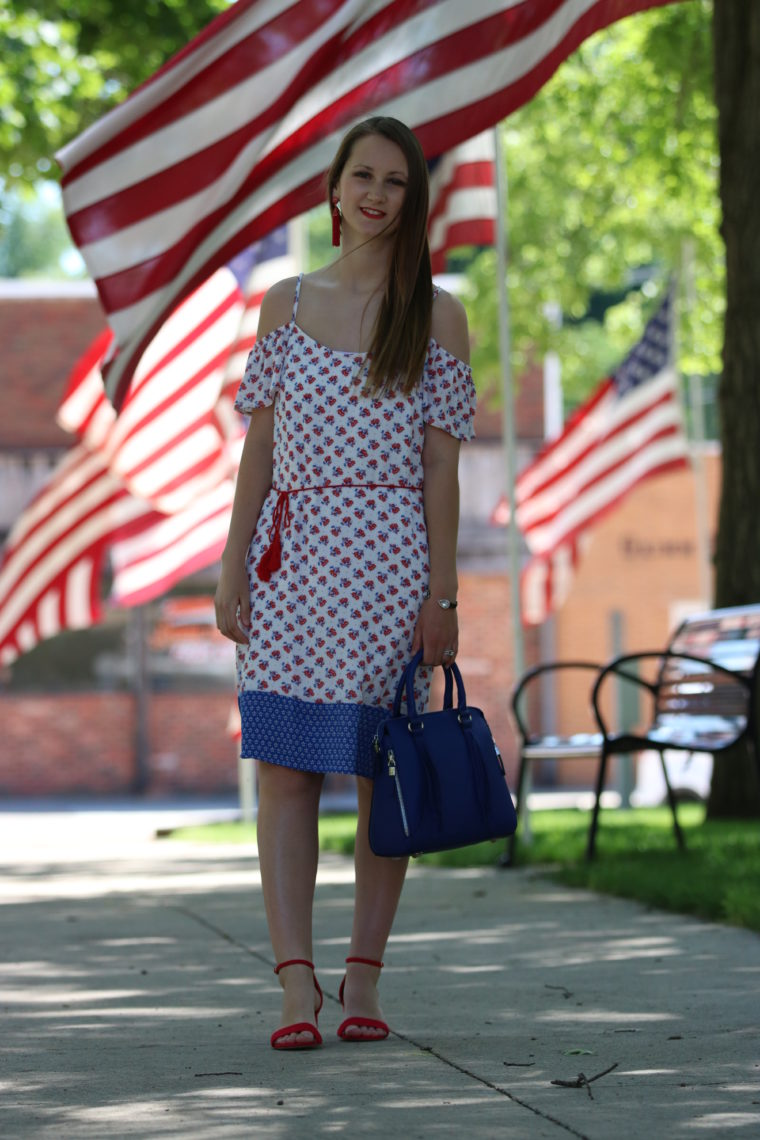 for the love of glitter, red, white, and blue outfit, women's fashion