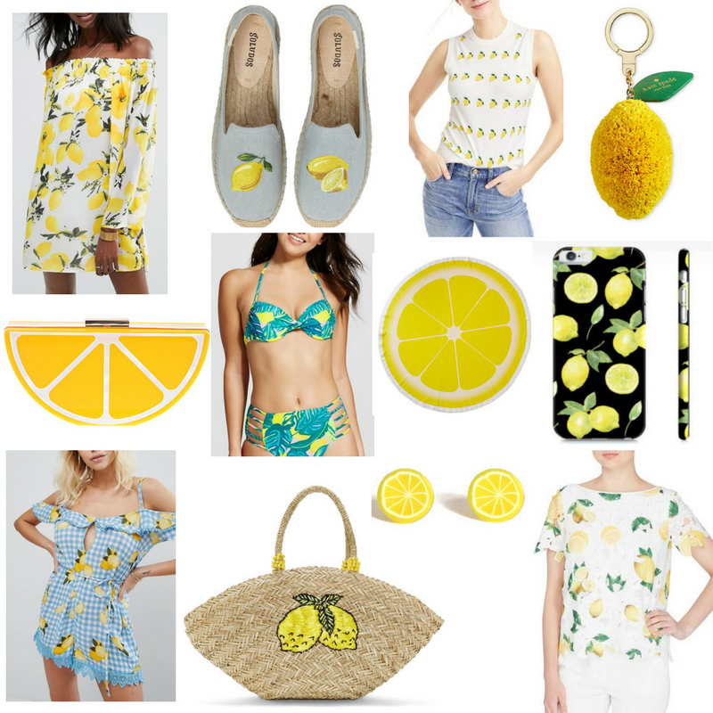Lemon Must-Haves For Summer