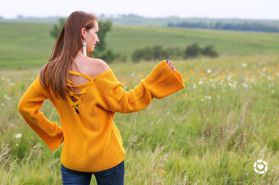 for the love of glitter, mustard yellow sweater, fall style, women's fashion