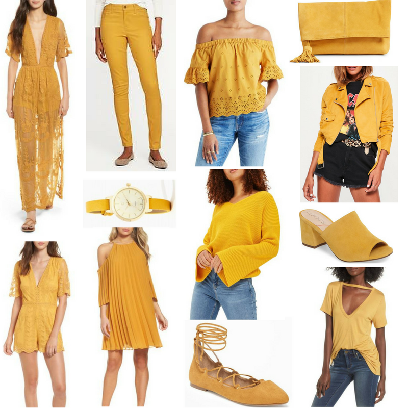 Color Crush: Mustard Yellow