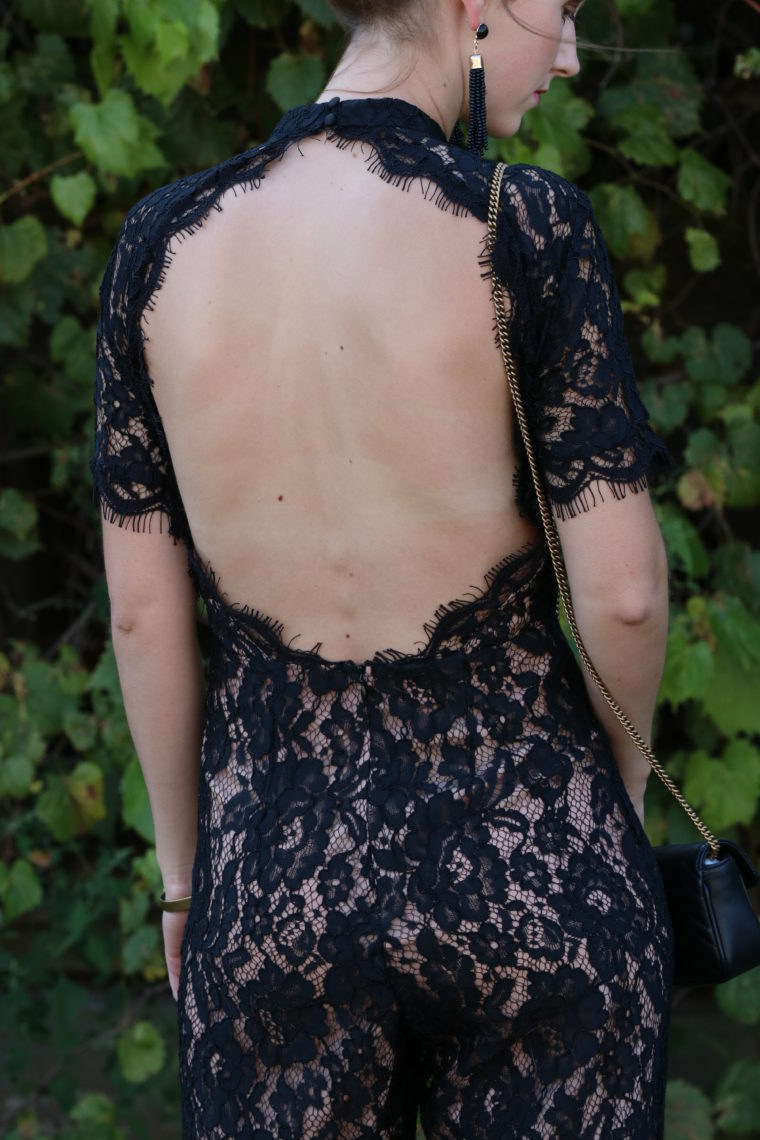 for the love of glitter, key hole back, lace jumpsuit, women's fashion