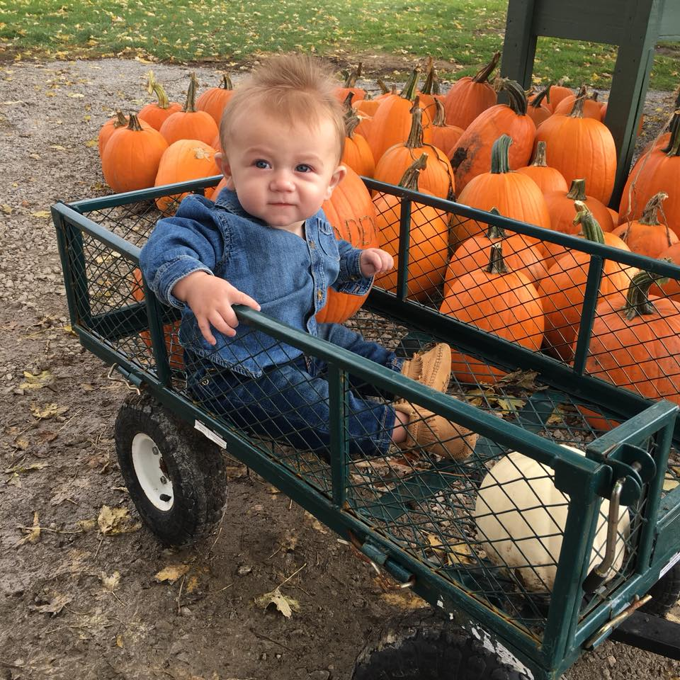 denim on denim, baby style, my little pumpkin