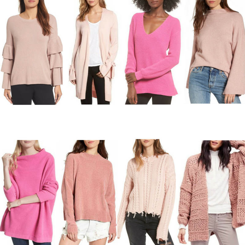8 Pink Sweaters Under $150