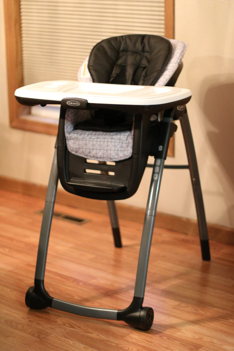 for the love of glitter, Graco highchair, buybuy Baby highchair