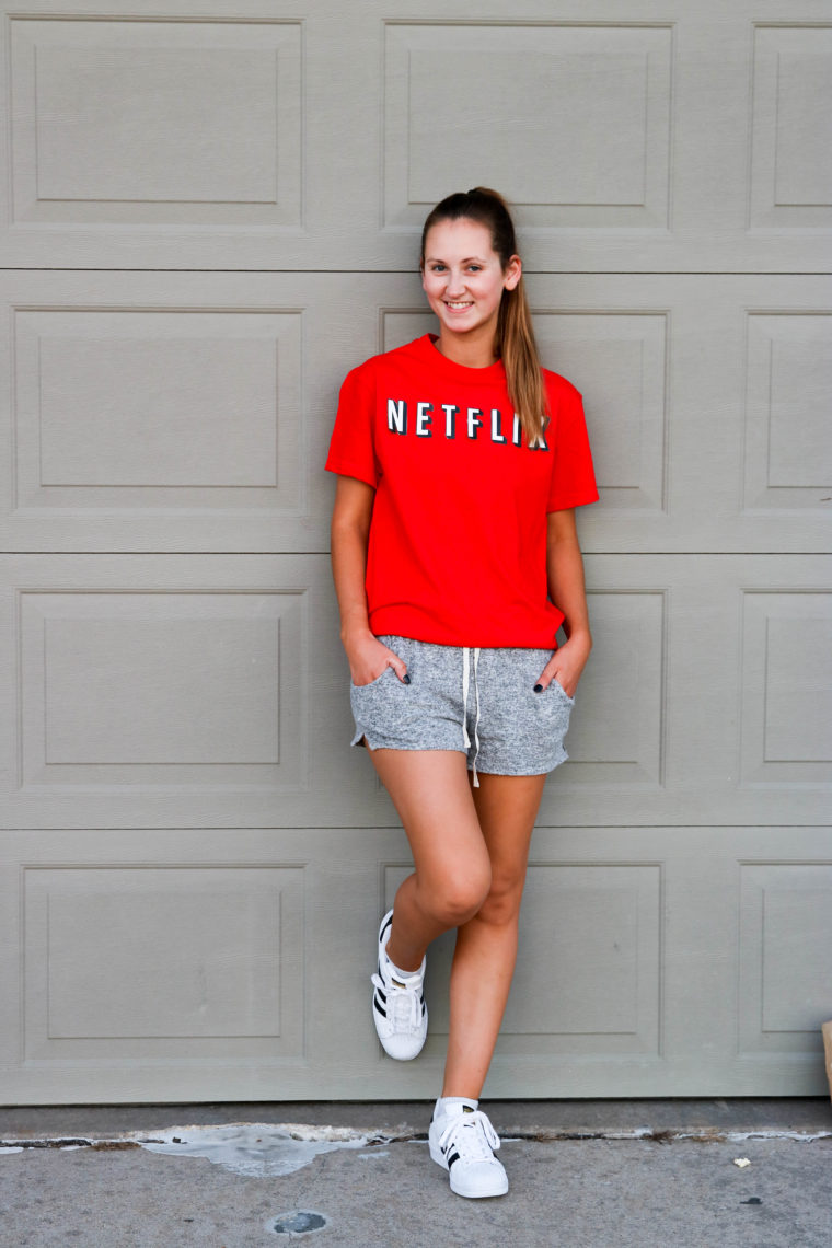 DIY Netflix & Chill Halloween Costume