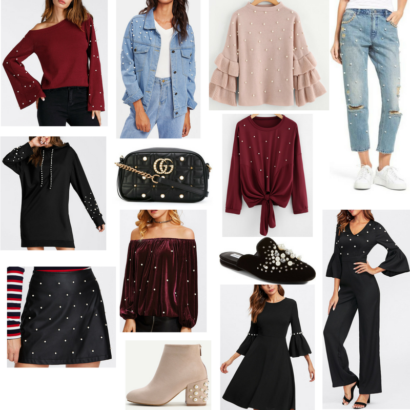 Trending: Pearl Embellished Pieces