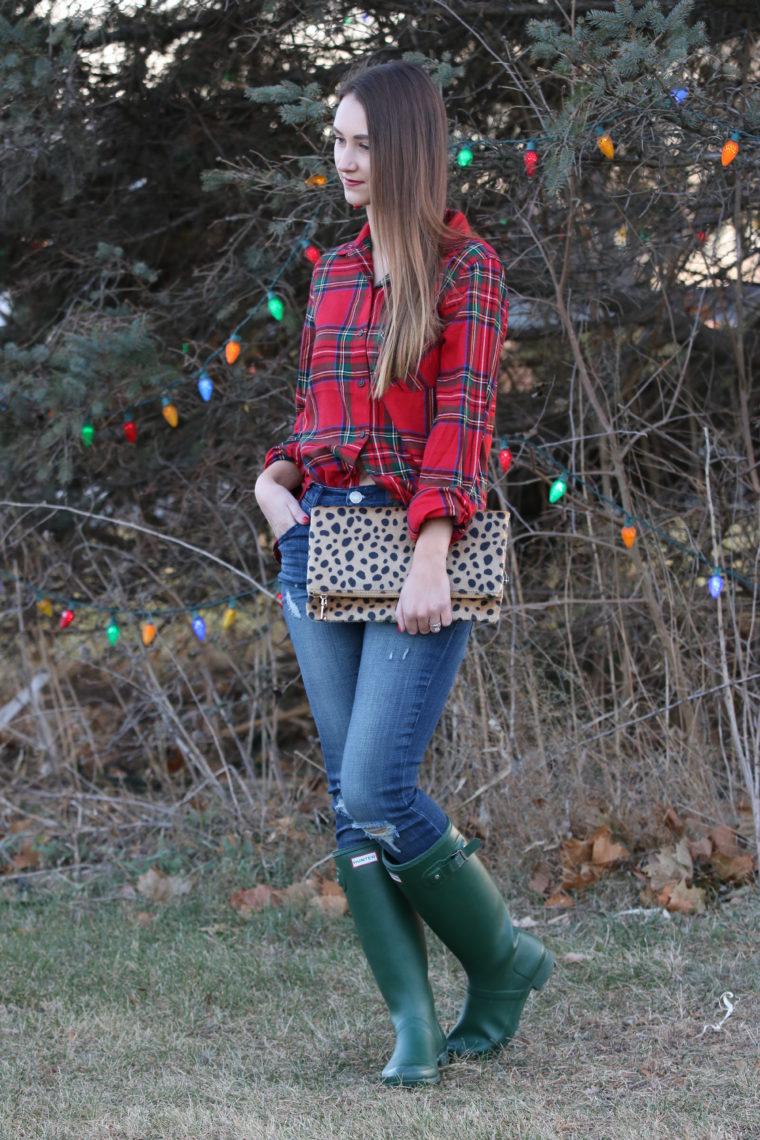 Christmas Plaid Long Sleeve
