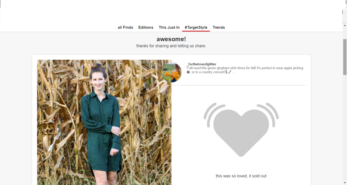 green gingham dress, fall style