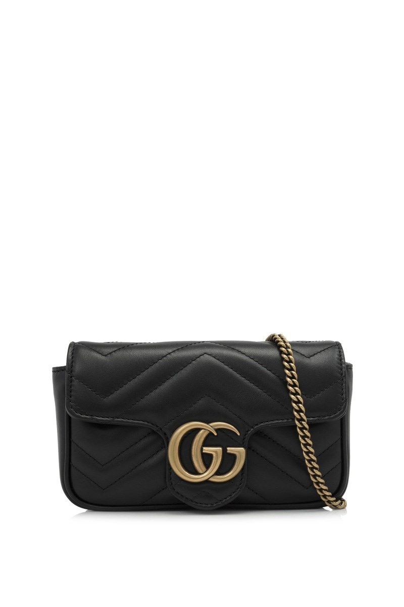 GG Marmont Matelasse Leather Super Mini Bag - For The Love Of Glitter 553a93a204a49