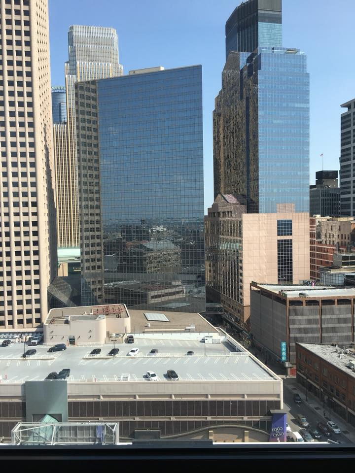 Loews Minneapolis Hotel review, hotel room views, Loews Hotels