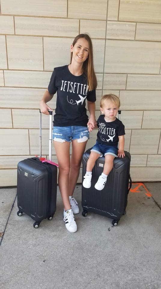 matching outfits, jetsetter, little jetsetter, toddler style, airport style