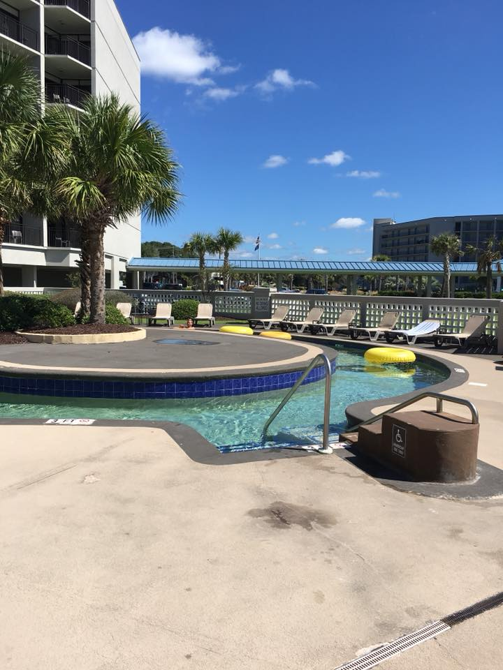 Myrtle Beach Travel Guide, Double Tree Myrtle Beach, lazy river