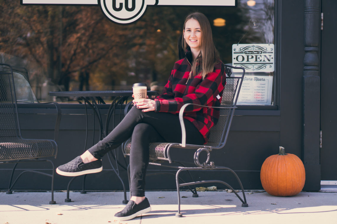 buffalo plaid sherpa pullover, sherpa pullover, comfy style