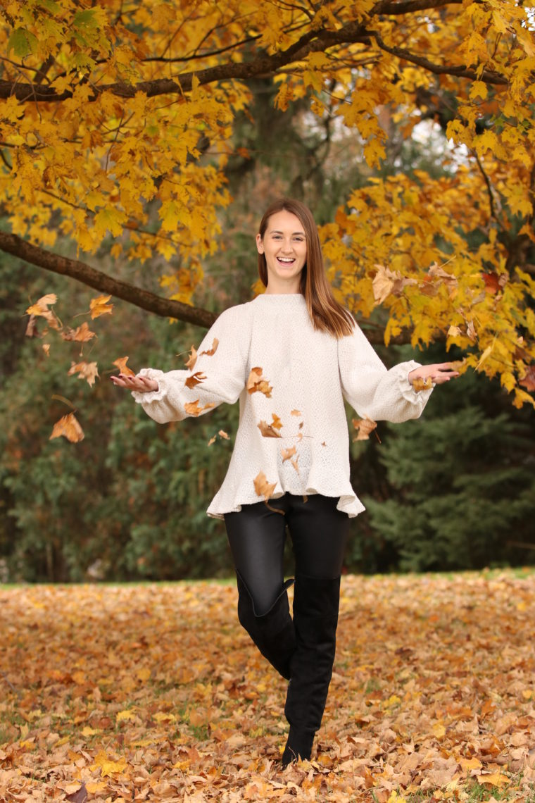yellow leaves, throwing leaves, fall style
