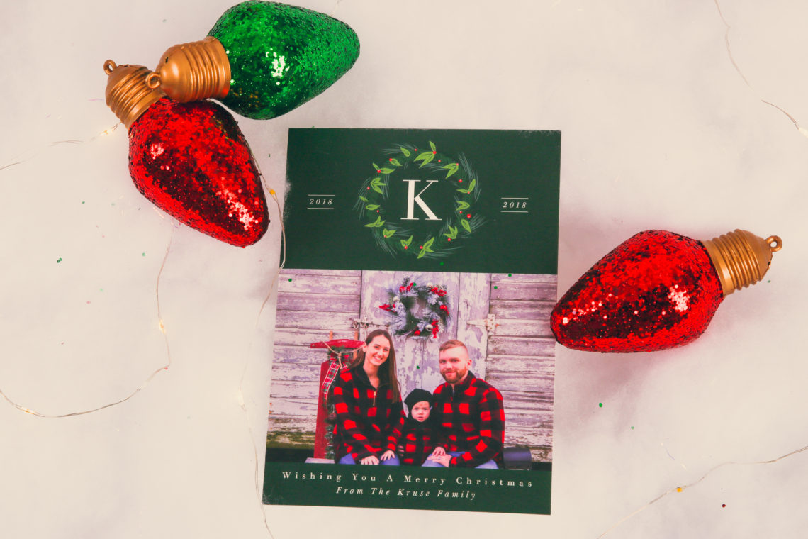 2018 Christmas Cards With Basic Invite