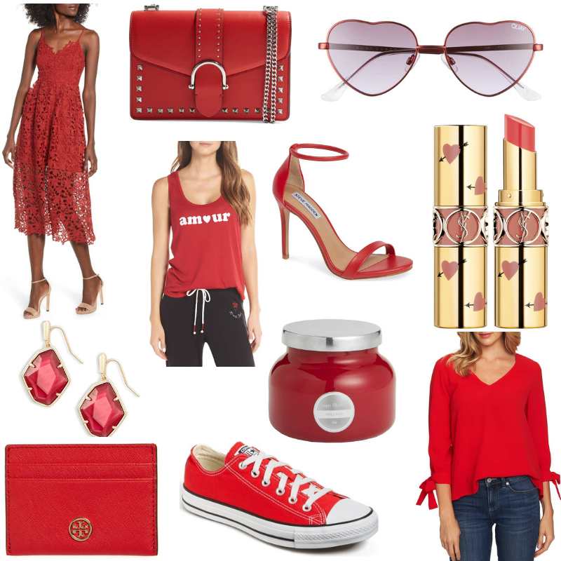 All Things Red For Valentine's Day