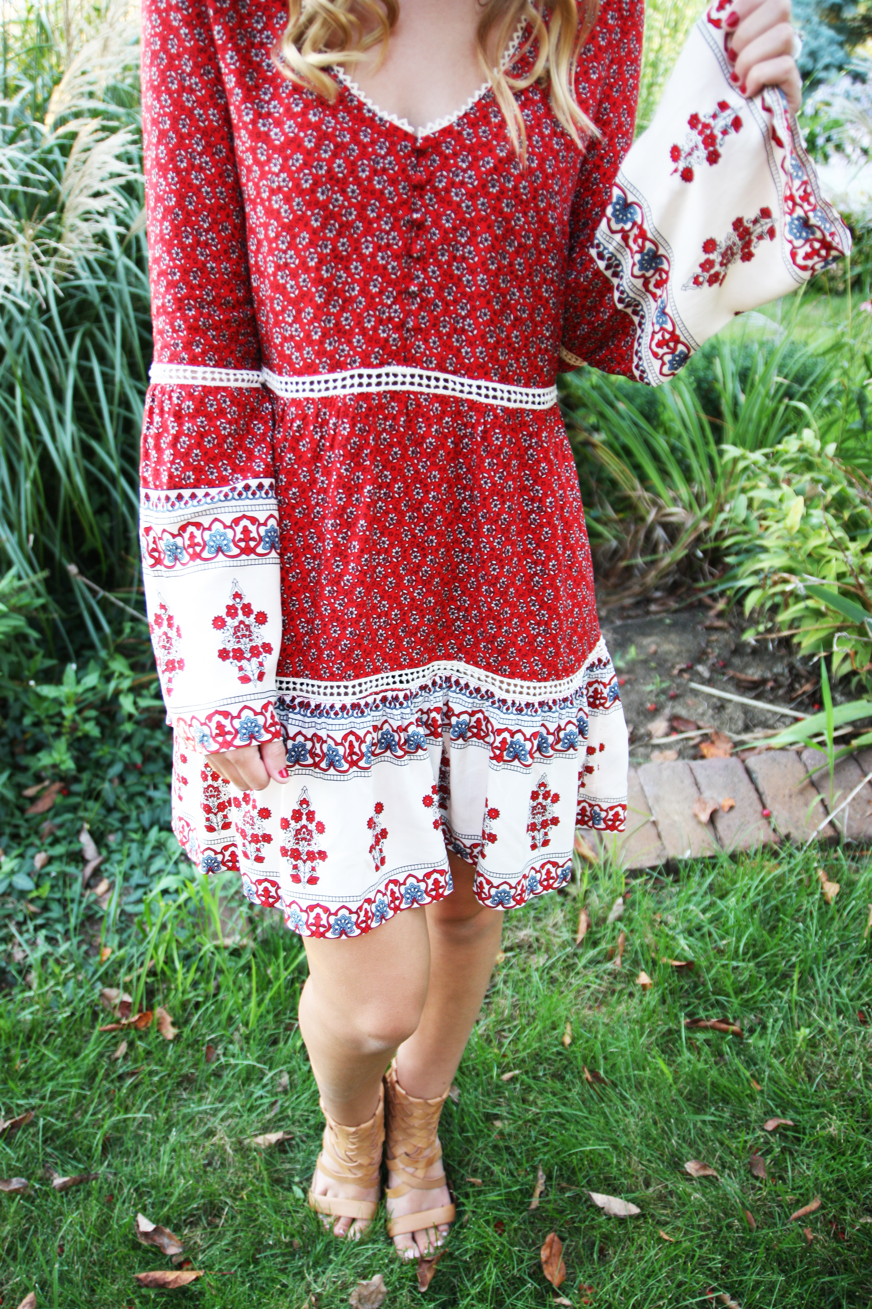 5b91edcfd7 Bell Sleeve Dress - For The Love Of Glitter