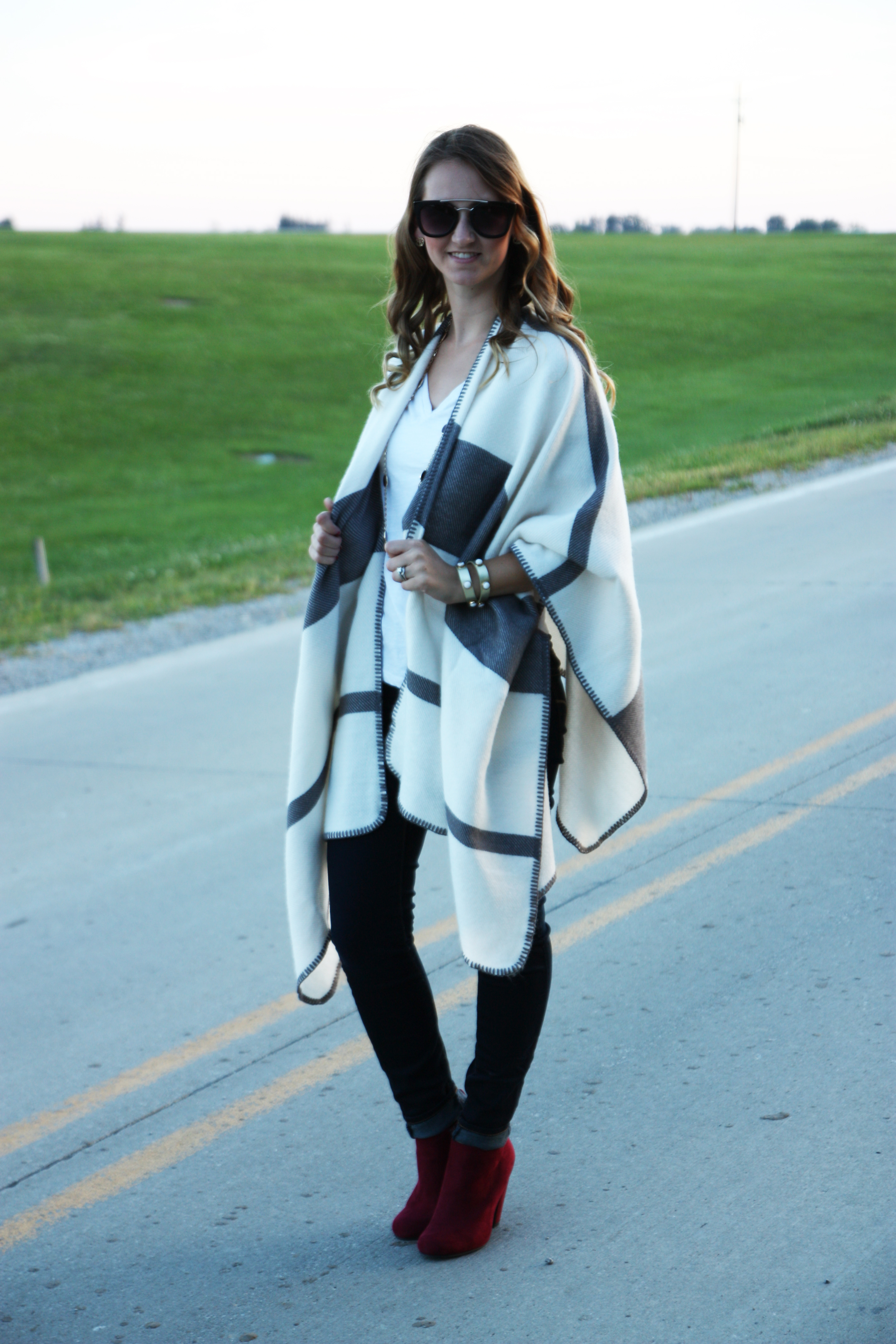 150bcebd70 The Softest Poncho - For The Love Of Glitter