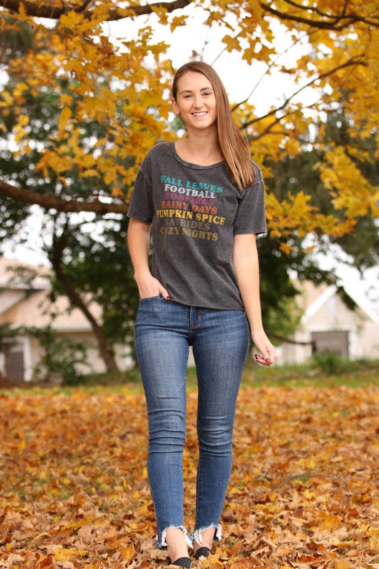 0e59f01d5 Fall Favorites Graphic Tee - For The Love Of Glitter